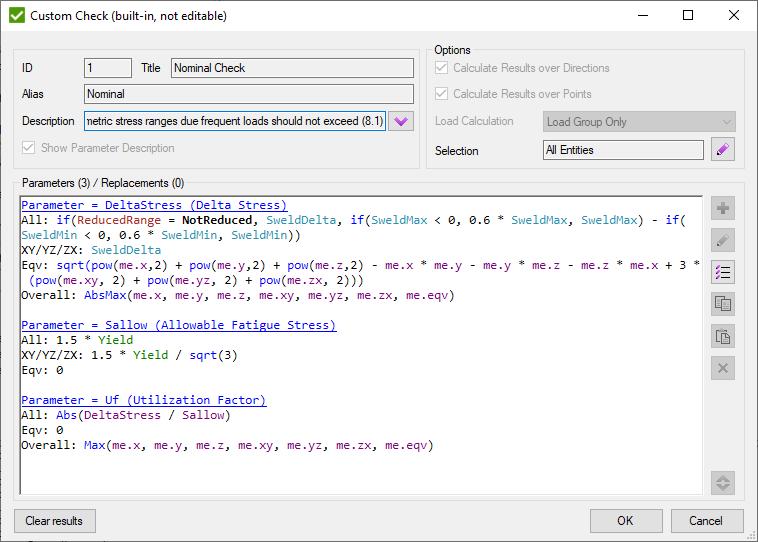 Eurocode 3 Fatigue (EN1993-1-9, 2005) | SDC Verifier for Femap