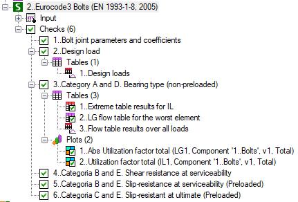 Implementing EN 1993-1-8 (2005) Bolt Check in SDC Verifier