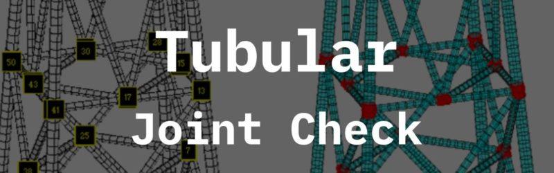 Tubular Joint Check SDC Verifier