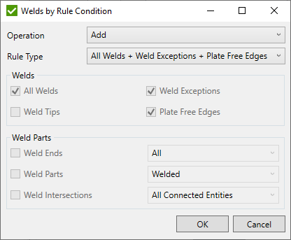 Select Welds by Rule