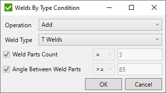Select Welds by Type