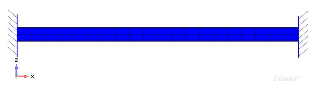 Fixed beam (at both ends)