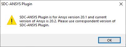 SDC Verifier plugin warning message